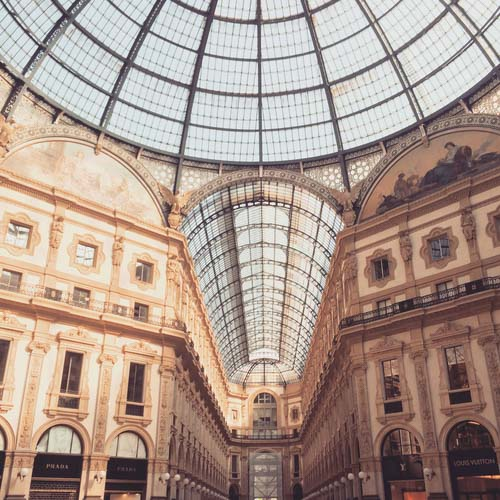 Monte Napoleone street,BFF, Beautyfitnessfood, Galleria Vittorio Emanuele II, Galleria Vittorio Emanuele II