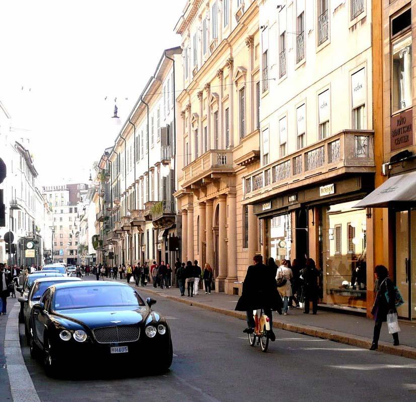 Torino street, Shopping